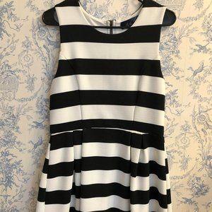 Blue Rain Women's Striped Dress Size Large